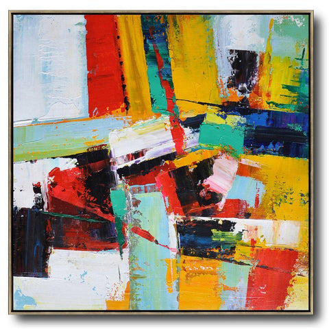 Palette Knife Contemporary Art #C10A-Contemporary Art-CZ Art Design(Celine Ziang Art)