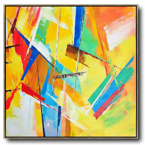 Palette Knife Contemporary Art #C42A-Contemporary Art-CZ Art Design(Celine Ziang Art)