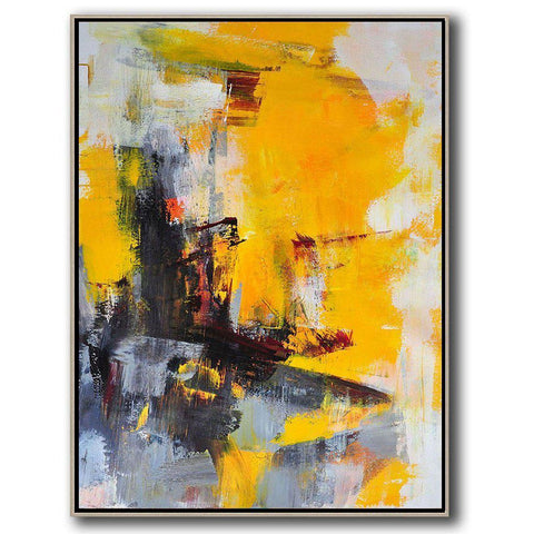 Palette Knife Contemporary Art #C45B-Contemporary Art-CZ Art Design(Celine Ziang Art)