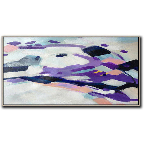 Panoramic Abstract Art #X5D-Abstract Art-CZ Art Design(Celine Ziang Art)