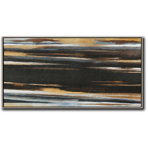 Panoramic Abstract Landscape Art #DH11D-Abstract Art-CZ Art Design(Celine Ziang Art)