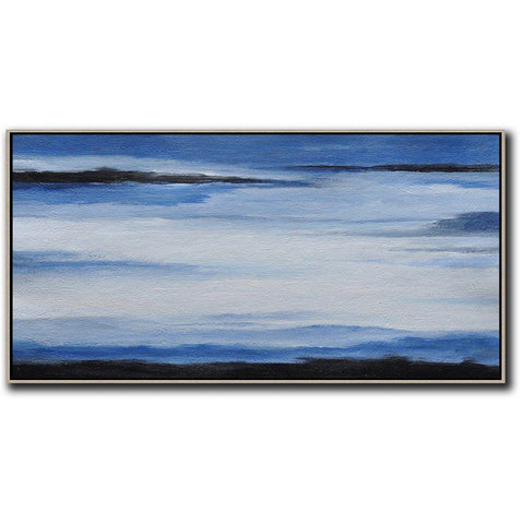Panoramic Abstract Landscape Art #DH16D-Abstract Art-CZ Art Design(Celine Ziang Art)