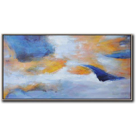 Panoramic Abstract Landscape Art #YJ1D-Abstract Art-CZ Art Design(Celine Ziang Art)
