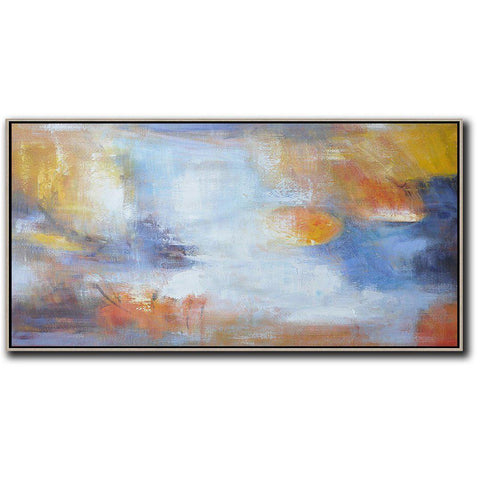 Panoramic Abstract Landscape Art #YJ2D-Abstract Art-CZ Art Design(Celine Ziang Art)