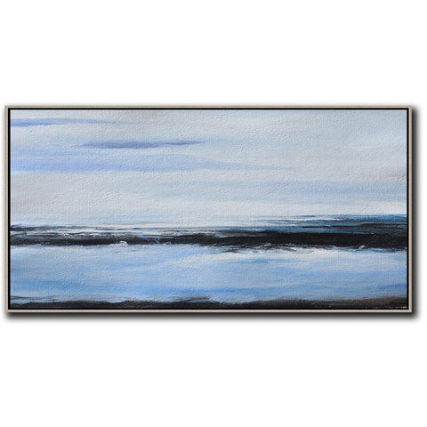 Panoramic Abstract Landscape #DH22D-Abstract Art-CZ Art Design(Celine Ziang Art)