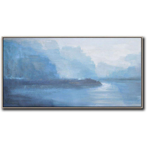 Panoramic Abstract Landscape Painting LX20D-Abstract Art-CZ Art Design(Celine Ziang Art)