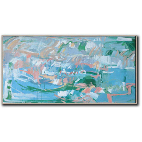 Panoramic Abstract Landscape Painting LX23D-Abstract Art-CZ Art Design(Celine Ziang Art)