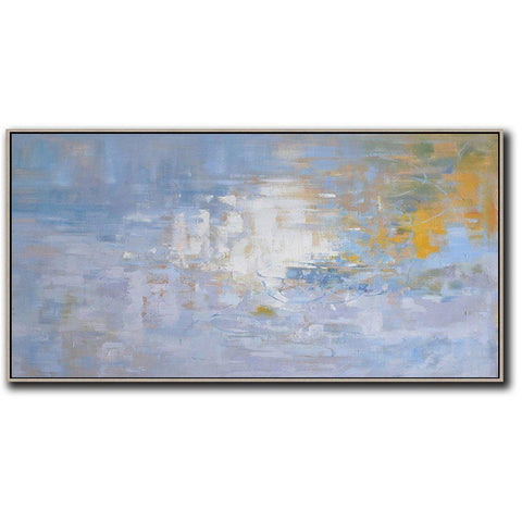 Panoramic Abstract Landscape Painting LX30D-Abstract Art-CZ Art Design(Celine Ziang Art)
