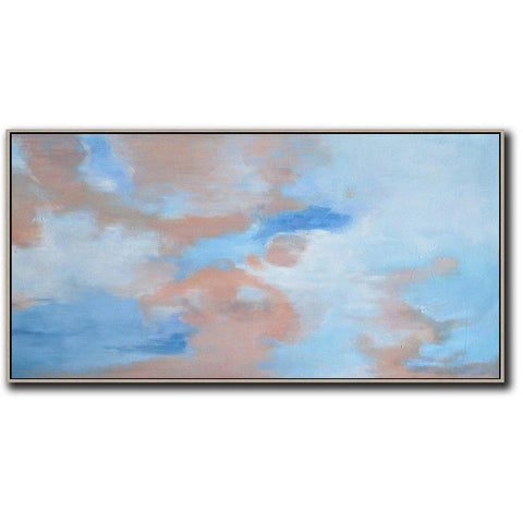 Panoramic Abstract Landscape Painting LX31D-Abstract Art-CZ Art Design(Celine Ziang Art)