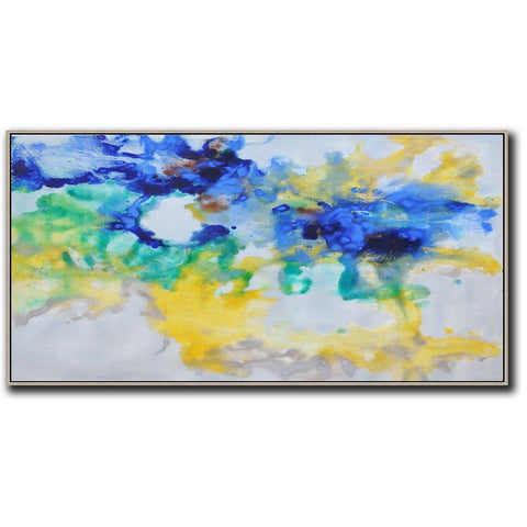 Panoramic Abstract Landscape Painting LX45D-Abstract Art-CZ Art Design(Celine Ziang Art)