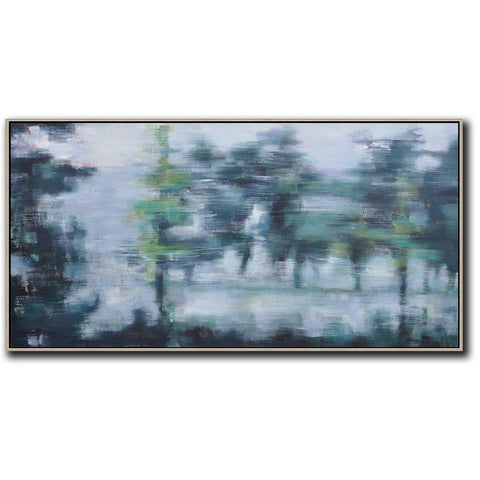 Panoramic Abstract Landscape Painting LX60D-Abstract Art-CZ Art Design(Celine Ziang Art)