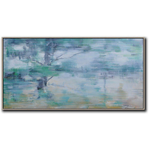 Panoramic Abstract Landscape Painting LX61D-Abstract Art-CZ Art Design(Celine Ziang Art)