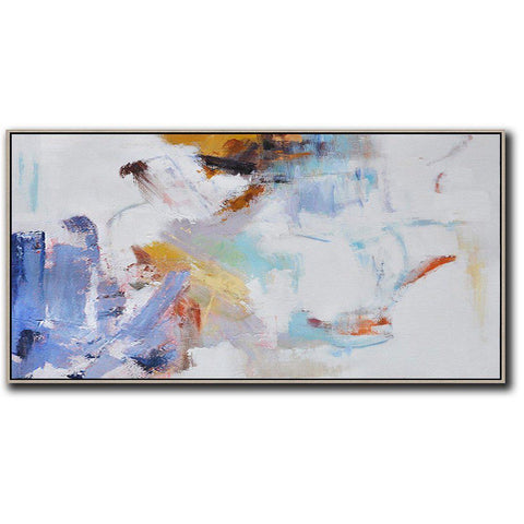 Panoramic Abstract Landscape Painting LX66D-Abstract Art-CZ Art Design(Celine Ziang Art)