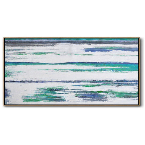 Panoramic Abstract Landscape Painting LX70D-Abstract Art-CZ Art Design(Celine Ziang Art)