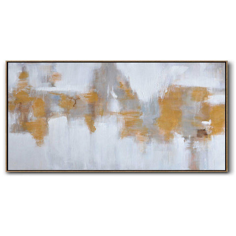Panoramic Abstract Landscape Painting LX71D-Abstract Art-CZ Art Design(Celine Ziang Art)