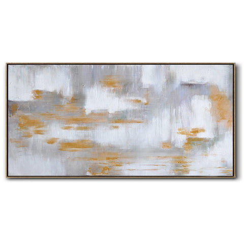 Panoramic Abstract Landscape Painting LX72D-Abstract Art-CZ Art Design(Celine Ziang Art)