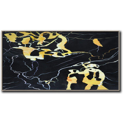 Panoramic Abstract Marble Art #X117D-Abstract Art-CZ Art Design(Celine Ziang Art)
