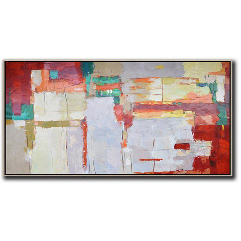 Panoramic Contemporary Art #X12D-Contemporary Art-CZ Art Design(Celine Ziang Art)