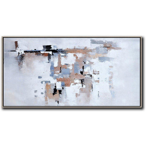 Panoramic Contemporary Art #X59D-Contemporary Art-CZ Art Design(Celine Ziang Art)