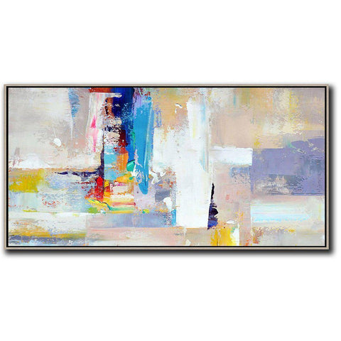 Panoramic Palette Knife Contemporary Art #C4D-Contemporary Art-CZ Art Design(Celine Ziang Art)