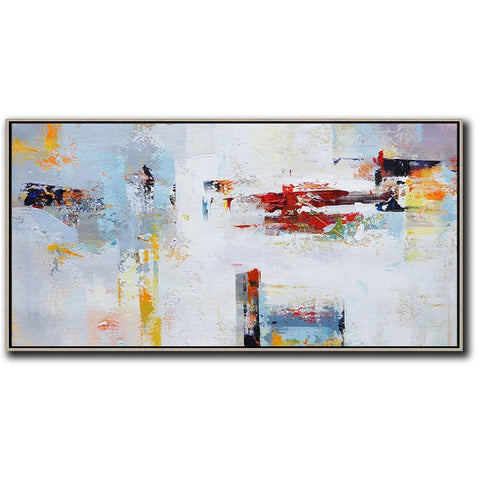 Panoramic Palette Knife Contemporary Art #C5D-Contemporary Art-CZ Art Design(Celine Ziang Art)
