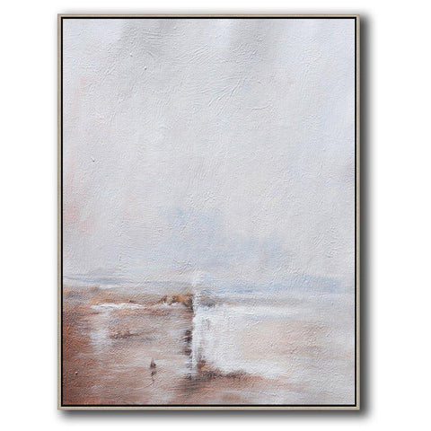 Vertical Abstract Landscape Art #DH18B-Abstract Art-CZ Art Design(Celine Ziang Art)