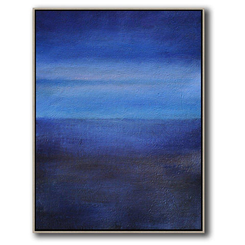 Vertical Abstract Landscape Art #DH21B-Abstract Art-CZ Art Design(Celine Ziang Art)