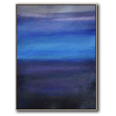 Vertical Abstract Landscape Art #DH24B-Abstract Art-CZ Art Design(Celine Ziang Art)