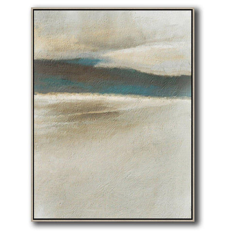 Vertical Abstract Landscape Art #DH8B-Abstract Art-CZ Art Design(Celine Ziang Art)
