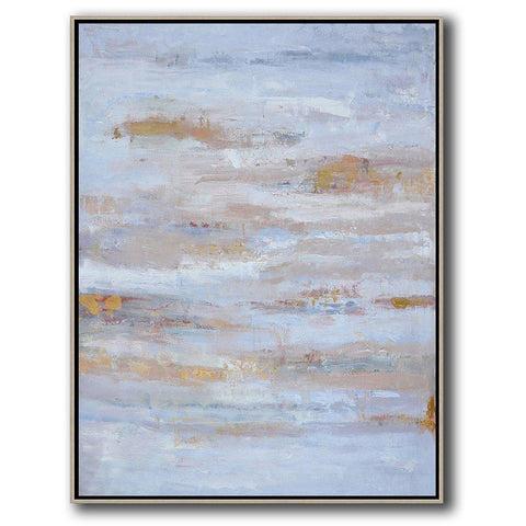 Vertical Abstract landscape Art #LX27B-Abstract Art-CZ Art Design(Celine Ziang Art)