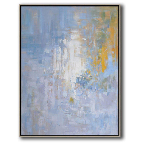Vertical Abstract landscape Art #LX30B-Abstract Art-CZ Art Design(Celine Ziang Art)