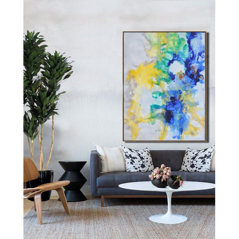 Vertical Abstract landscape Art #LX45B-Abstract Art-CZ Art Design(Celine Ziang Art)