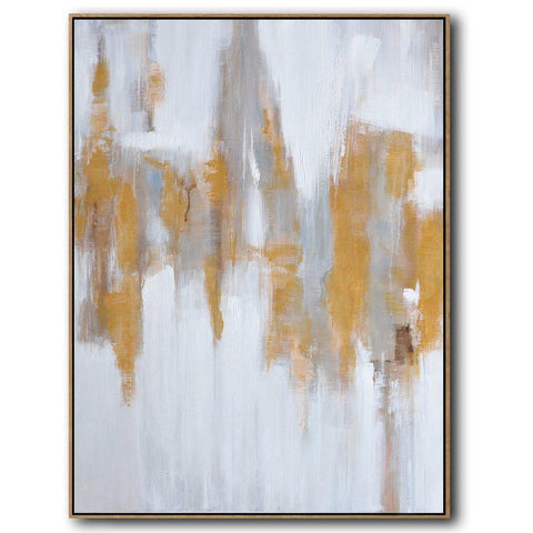 Vertical Abstract landscape Art #LX71B-Abstract Art-CZ Art Design(Celine Ziang Art)