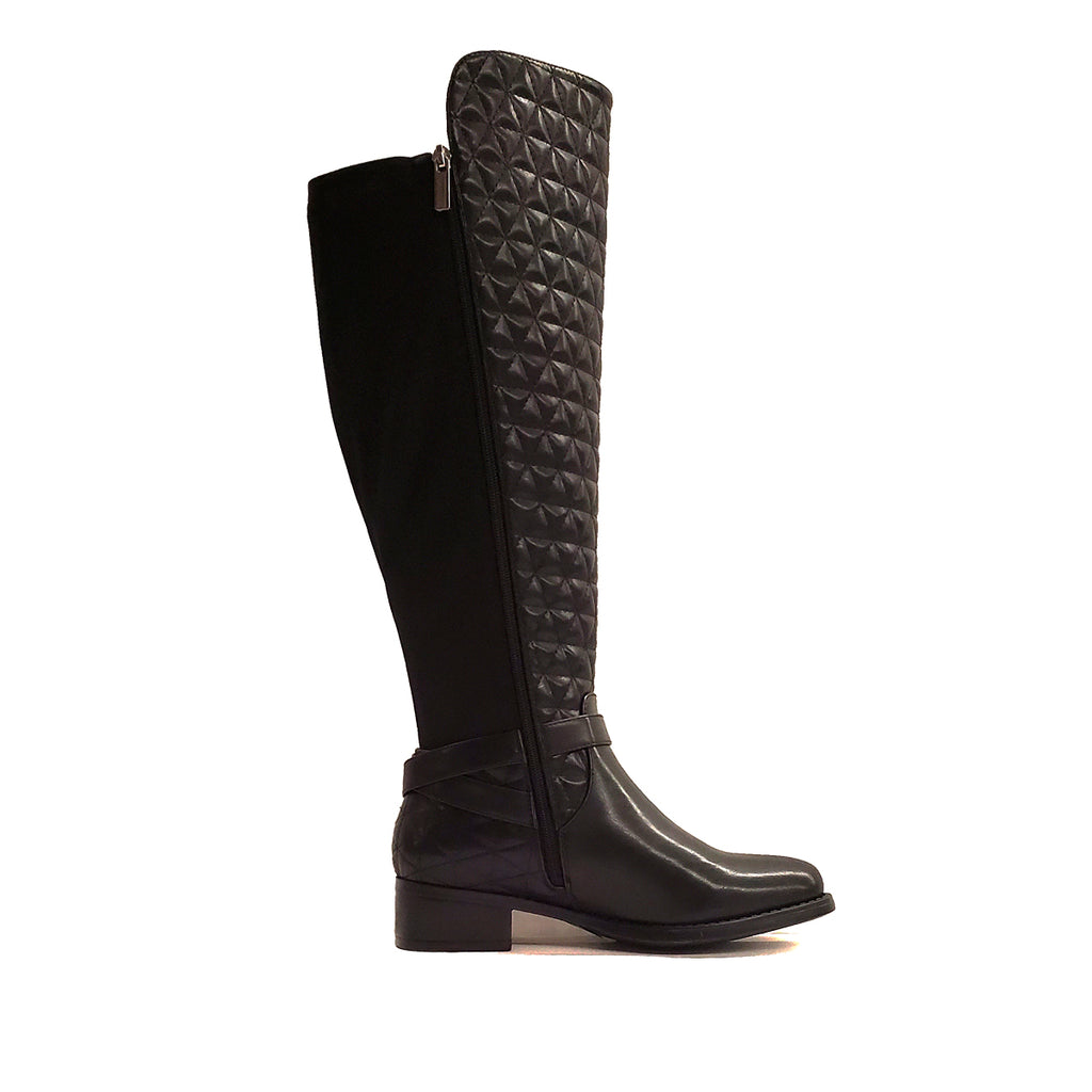Calimesa Black Over The Knee Extra Wide Calf Riding Boot