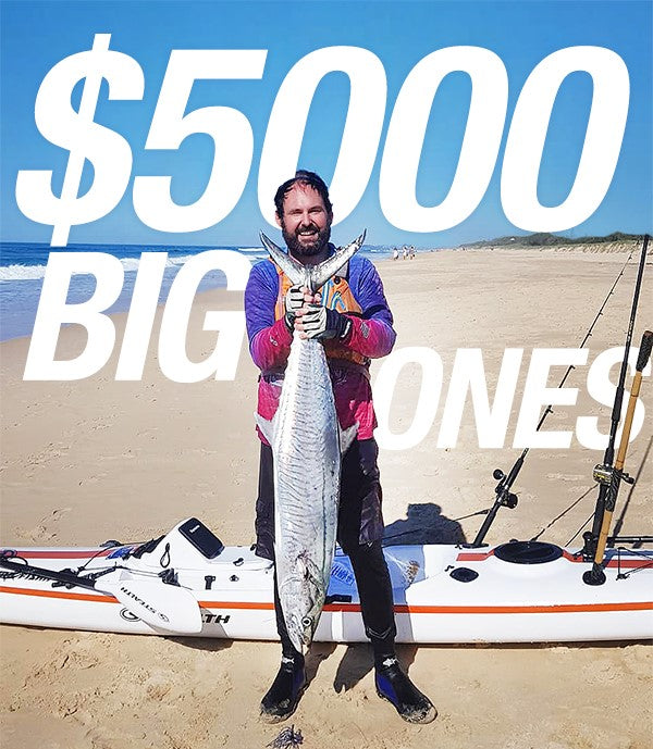 Keen to Win $5000 Kayak Fishing ?