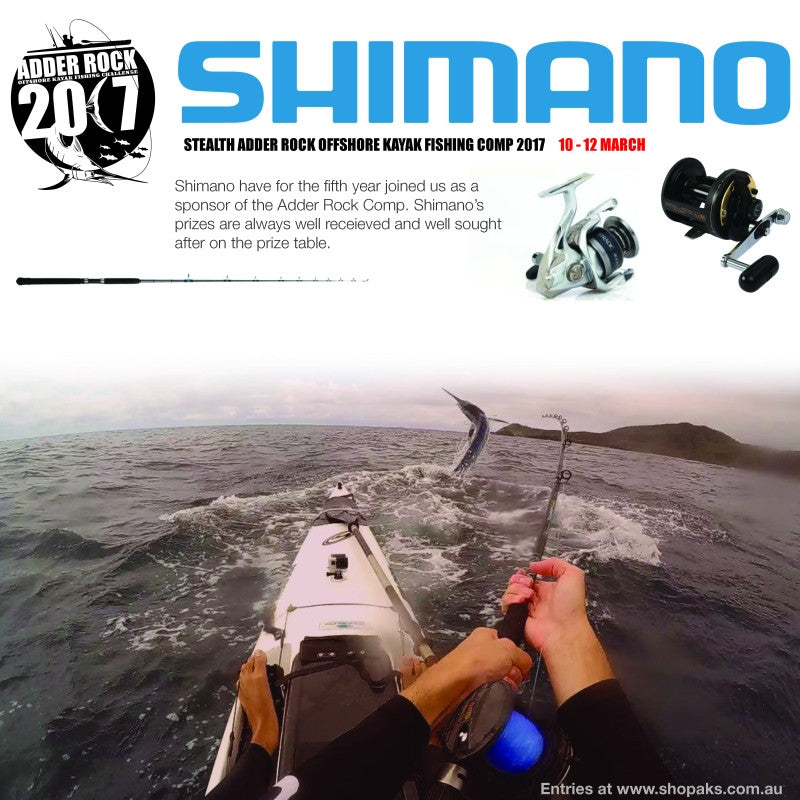 Shimano a Major Sponsor for the 2017 Adder Rock Comp