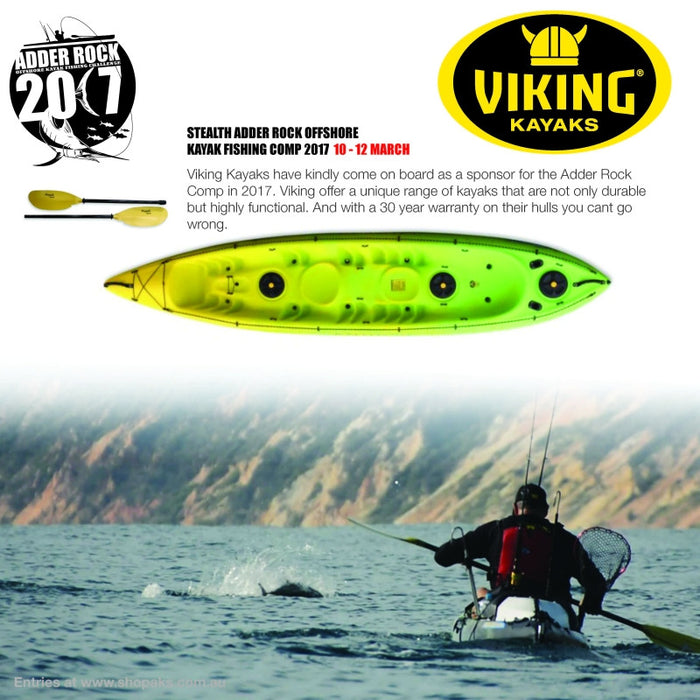 Viking Have Joined the ADDER ROCK Sponsors