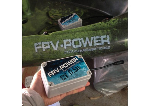 FPV Power Lithium Kayak Battery - 17.5 ah