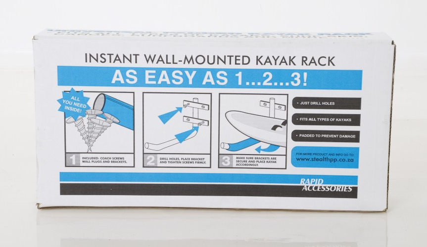 Wall Mounted Kayak Rack
