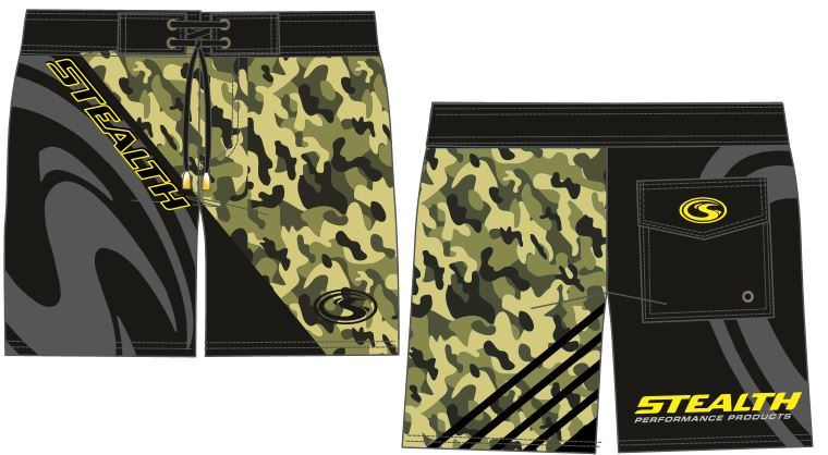 Stealth Board Shorts