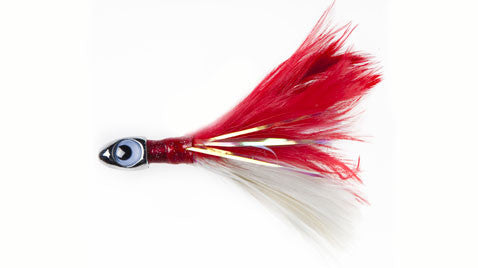 Couta Feather Jig - Rigged with Single Hook
