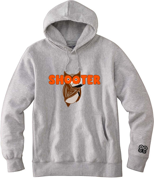 SPORT GREY SHOOTER SQUAD OWL HOODIE
