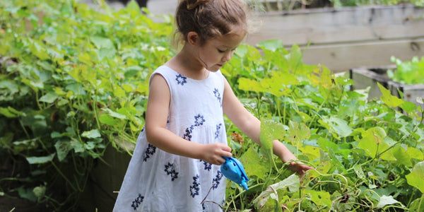 10 Tips to Get Your Kids out in the Garden...and Loving it!