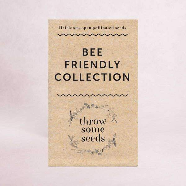 Bee Friendly Gardening - planting for pollinators | Throw Some Seeds - Australian gardening gifts and eco products online!