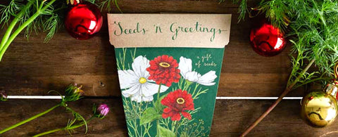 Sow 'n Sow Gift of Seeds, an eco friendly gift that grows!