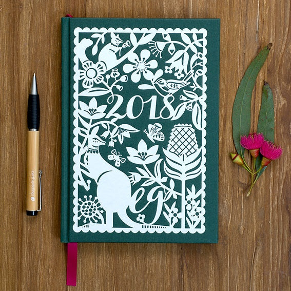 2018 Andrea Smith Diary - Journals - Throw Some Seeds - Australian gardening gifts and eco products online!