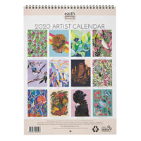 2020 Artist Calendar - Earth Greetings - Calendar - Throw Some Seeds - Australian gardening gifts and eco products online!