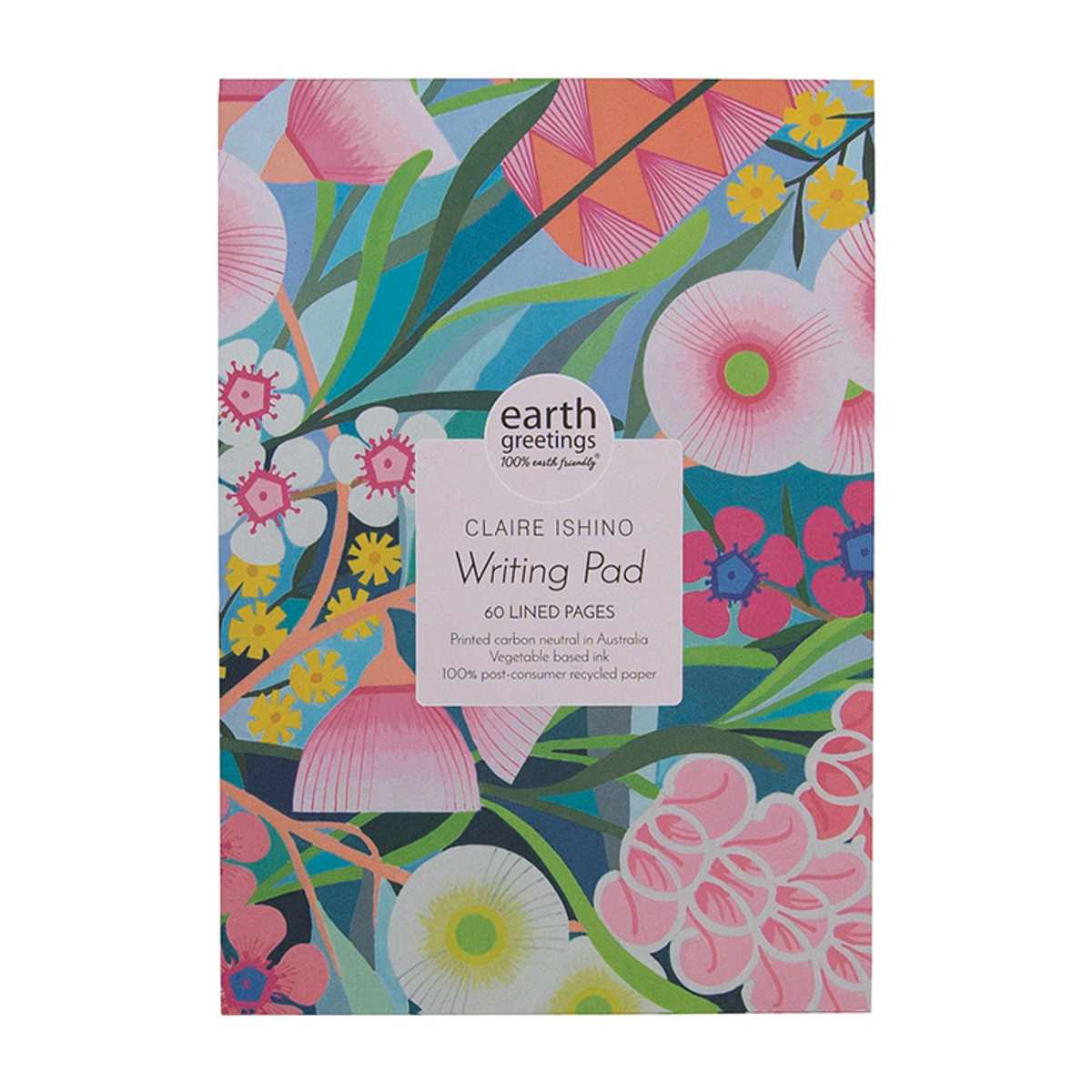 A5 Writing Pad - Native Medley (60 pages) - Journals - Throw Some Seeds - Australian gardening gifts and eco products online!