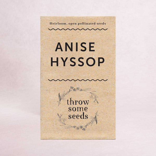 Anise Hyssop Seeds - Seeds - Throw Some Seeds - Australian gardening gifts and eco products online!