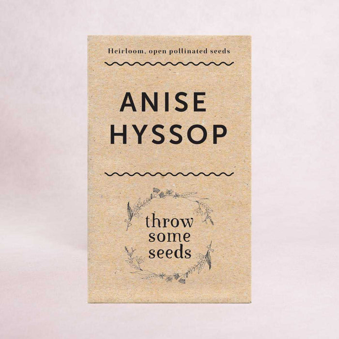 Anise Hyssop Seeds - Seeds - Throw Some Seeds - Nature Inspired Gifts for the Home & Garden